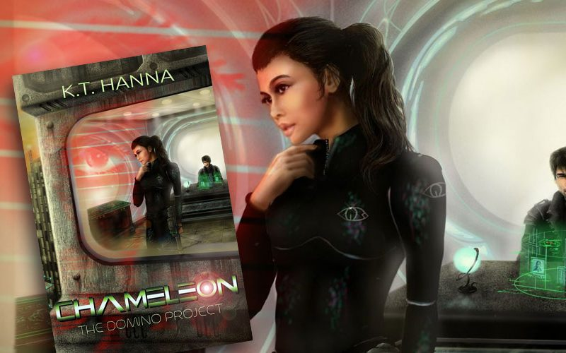 Cover Reveal: Chameleon (The Domino Project #1)