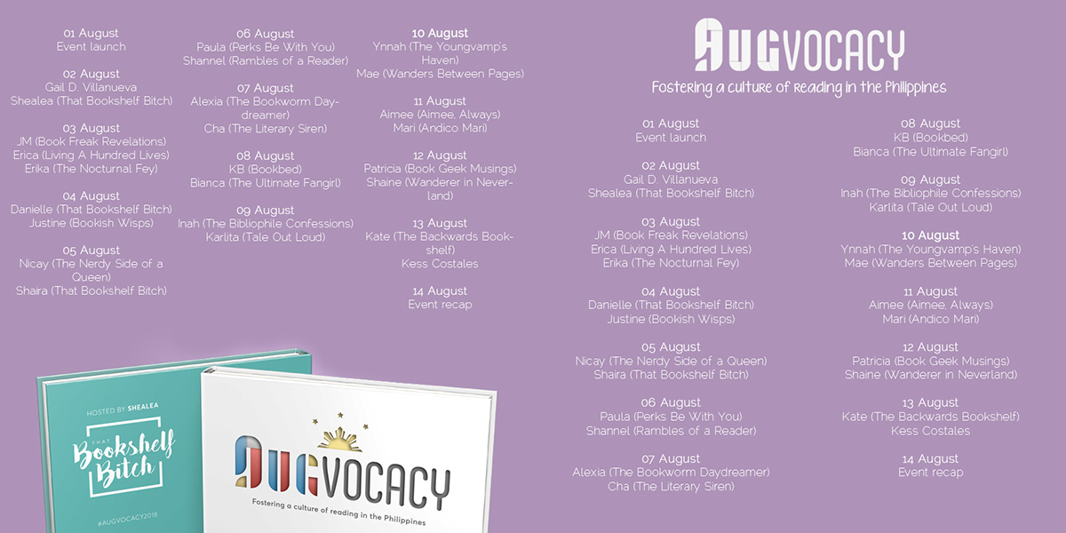 Augvocacy 2018 Blog Hop Schedule