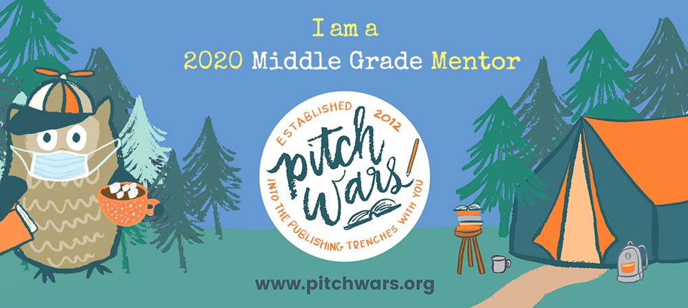 I'm a 2020 Pitch Wars Middle Grade Mentor!