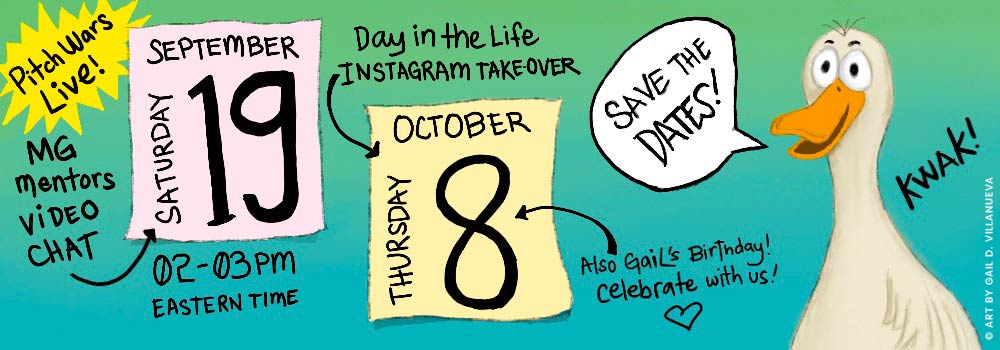Save the dates! September 19, 2-3PM EST and all day of October 8
