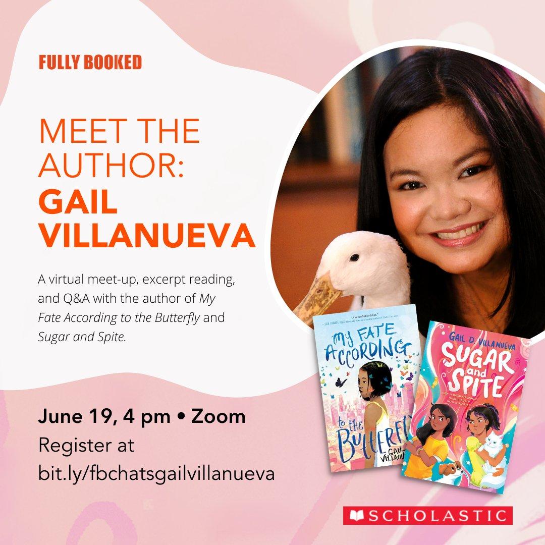 Fully Booked Chats: Gail Villanueva